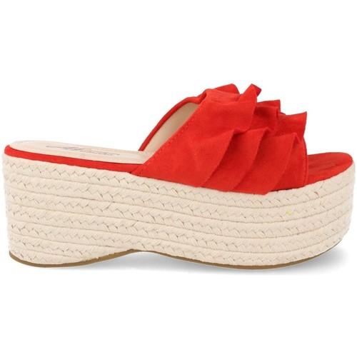 Ainy MB-35 Rojo - Envío gratis | ! - Zapatos Alpargatas Mujer