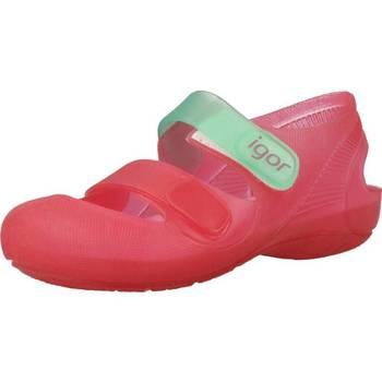 Zapatos Niña Zapatos para el agua Igor S10146 Rosa