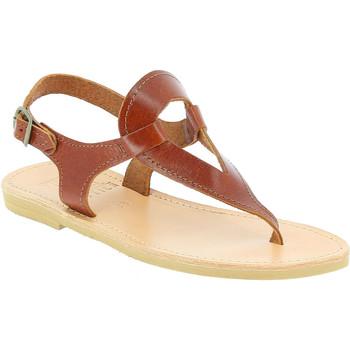 Zapatos Mujer Sandalias Attica Sandals ARTEMIS CALF DK-BROWN marrone
