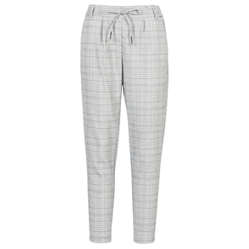 textil Mujer pantalones chinos Only ONLPOPTRASH Negro / Blanco