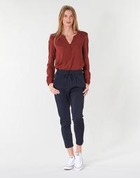 textil Mujer pantalones chinos Only ONLPOPTRASH Marino