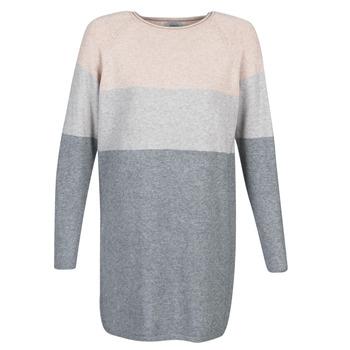 textil Mujer vestidos cortos Only ONLLILLO Gris / Rosa