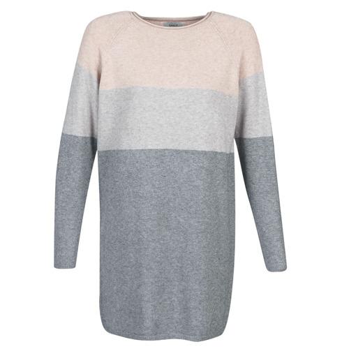 Only ONLLILLO Gris / Rosa - Envío gratis | ! - textil vestidos cortos Mujer