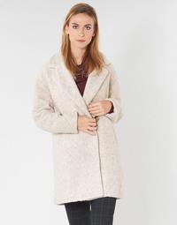 textil Mujer Abrigos Only ONLNINA Beige