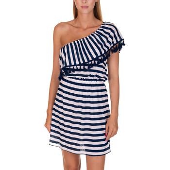 textil Mujer Vestidos cortos Lisca Vestido playa La Habana Azul Marine