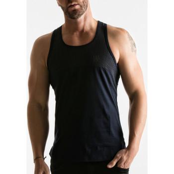 textil Hombre camisetas sin mangas Code 22 Código de la banda rodamiento 22 Azul Marine
