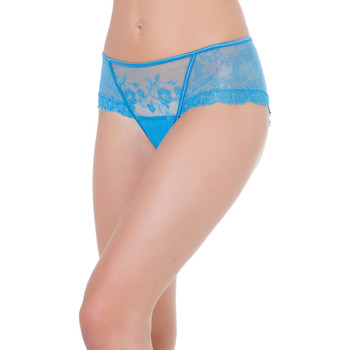 Ropa interior Mujer Shorty / Boxer Selmark Shorty Siena Azul Turquoise