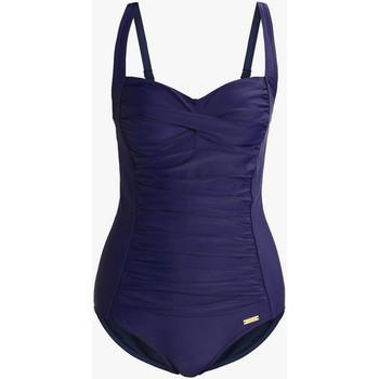 textil Mujer Bañador Lascana Traje de baño adelgazante 1 pieza TK-5 azul marino copas B a Azul Marine