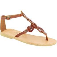 Zapatos Mujer Sandalias Attica Sandals GAIA CALF DK-BROWN marrone