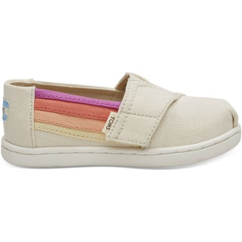 Zapatos Niños Alpargatas Toms Horizon Canvas Kid's Alpargata Birch