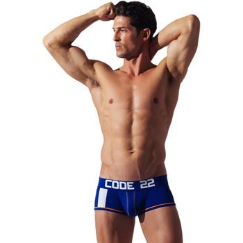 Ropa interior Hombre Boxer Code 22 Código de la franja corta22 Azul
