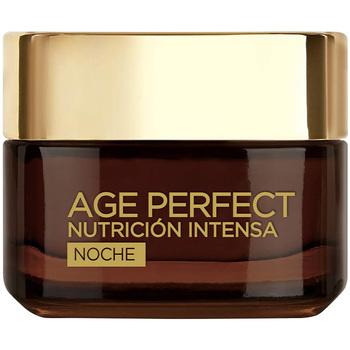 Belleza Mujer Antiedad & antiarrugas L'oréal Age Perfect Nutricion Intensa Crema Noche  50 ml