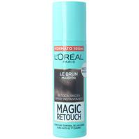 Belleza Fijadores L'oréal Magic Retouch 2-castaño Oscuro Spray  100 ml