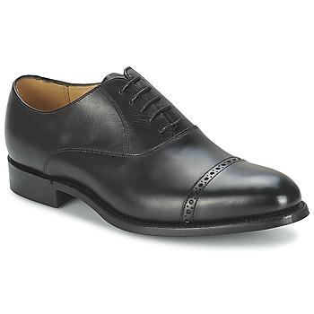 Zapatos Hombre Richelieu Barker BURFORD Negro