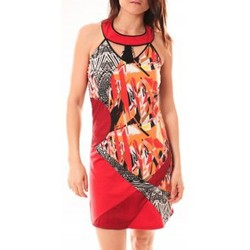 textil Mujer Vestidos cortos Bamboo's Fashion Robe BA1501 Rouge Rojo