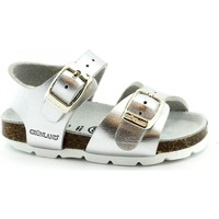 Zapatos Niña Sandalias Grunland GRU-RRR-SB0392-AR Argento