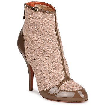 Zapatos Mujer Botines Missoni LISCIA Beige / Marrón