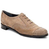Zapatos Mujer Richelieu Stuart Weitzman DERBY Beige