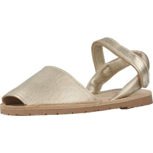 Ria 20090 Oro - Zapatos Sandalias Nino