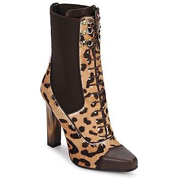 Zapatos Mujer Botines Roberto Cavalli SPS769 Marrón
