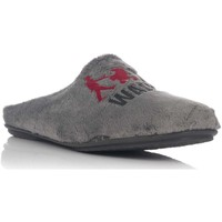 Zapatos Hombre Pantuflas Vulladi 2636-123 Gris