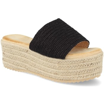 Zapatos Mujer Alpargatas Buonarotti 1JB-19339 Negro
