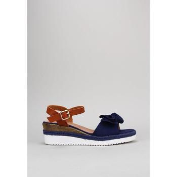 Zapatos Mujer Sandalias Isteria 9030 Azul