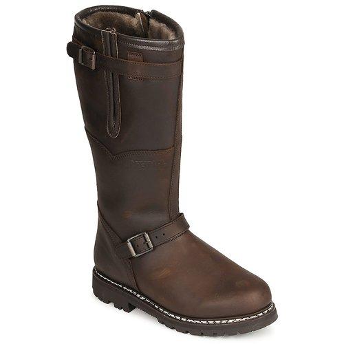 Zapatos especiales para hombres y mujeres Meindl KITZBUHEL Marrón