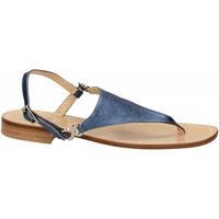 Zapatos Mujer Sandalias Paolo Ferrara CUOIO NATURALE blue