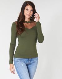 textil Mujer Tops / Blusas Moony Mood LAMELI Kaki