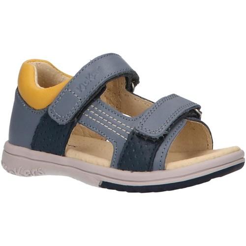 Kickers 414745-10 PLAZABI Azul - Envío gratis | ! - Zapatos Sandalias Nino