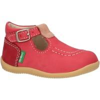 Zapatos Niños Derbie & Richelieu Kickers 621013-10 BONBEK Rosa