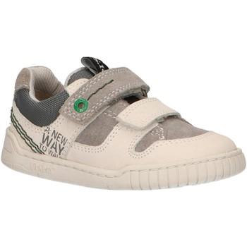Zapatos Niños Zapatillas bajas Kickers 694150-10 WAHOU Blanco
