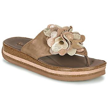 Zapatos Mujer Chanclas Think ZEGA Beige