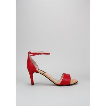 Zapatos Mujer Sandalias Krack Harmony LINO Rojo