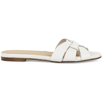 Zapatos Mujer Zuecos (Mules) Chika10 Leather OASIS 01 Blanco/White