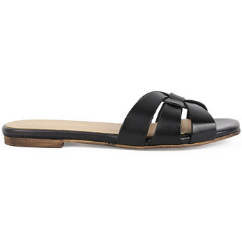 Zapatos Mujer Zuecos (Mules) Chika10 Leather OASIS 01 Negro/Black