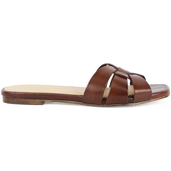 Zapatos Mujer Zuecos (Mules) Chika10 Leather OASIS 01 ROBLE/DK.BROWN