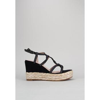 Zapatos Mujer Sandalias D'angela  Negro