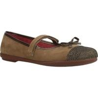 Zapatos Niña Bailarinas-manoletinas Duvic 6229 Marron