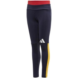 textil Niña leggings adidas Originals YG ID TP TIGHT BLU Azul