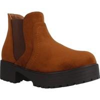 Zapatos Niña Botines Different 4216 Marron