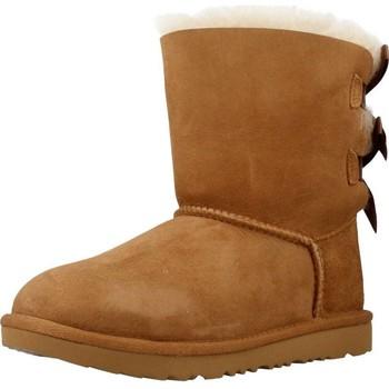 Zapatos Niña Botas urbanas UGG BAILEY BOW II Marron