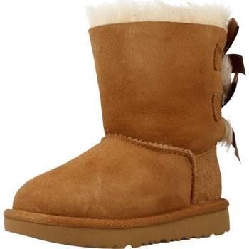 Zapatos Niña Botas de nieve UGG BAILEY BOW II Marron