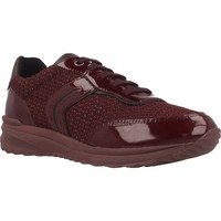 Zapatos Mujer Zapatillas bajas Geox D AIRELL A Rojo