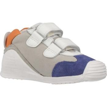 Zapatos Niño Zapatillas bajas Biomecanics SANDALIA SAUVAGE REJULLA Blanco