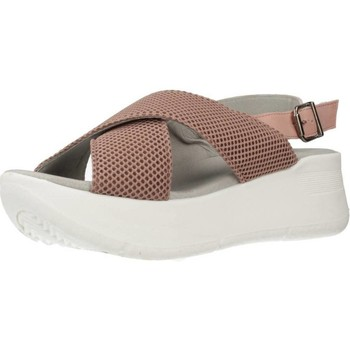 Zapatos Mujer Sandalias Clover 15719C Beige
