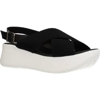 Zapatos Mujer Sandalias Clover 15719C Negro