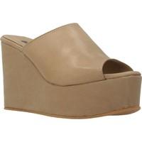 Zapatos Mujer Zuecos (Mules) Clover 89822 Marron