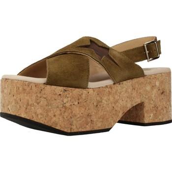 Zapatos Mujer Sandalias Clover 7129C Verde
